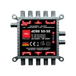 Multiswitch OPTICUM RED dCSS 52-32 PL WideBand - 2sat (Polsat/Canal+)