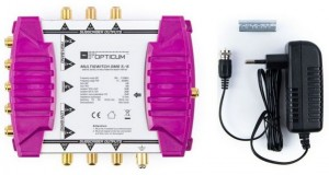 MULTISWITCH OPTICUM OMS 5/6 GOLDEN LINE