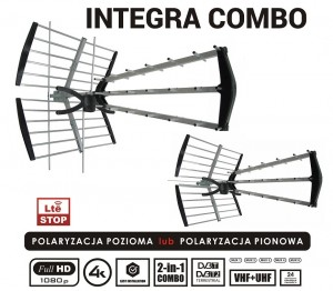 Antena TV Opticum INTEGRA COMBO - UHF + VHF