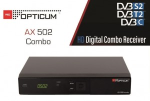 TUNER OPTICUM HD AX 502 Combo