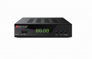 Tuner OPTICUM AX LION 4M PLUS DVB-T2 H.264