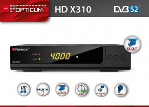 TUNER OPTICUM HD AX310 - KLASA BC