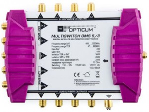 MULTISWITCH OPTICUM OMS 5/8 GOLDEN LINE